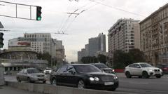 New Arbat Avenue Stock Footage