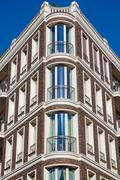 Beautiful townhouse in Berlin - stock photo
