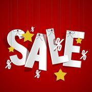 Sale Stock Illustration