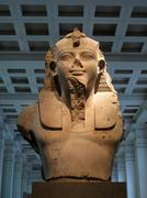 Egyptian sculpture Stock Photos