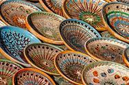 Stock Photo of folk pottery 6