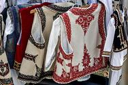 Stock Photo of romanian traditional costumes 2
