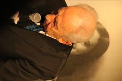 Shimon Peres Anne Frank Stock Photos