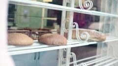 Breads in bakery HD Stock Footage