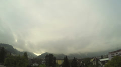 Dornbirn in Austria time lapse Stock Footage