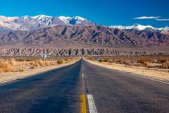 Stock Photo of Scenic road in northern Argentina