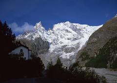 Mont Blanc Southern Aspect - stock photo