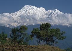 Annapurna Mountains - stock photo