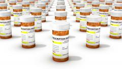 Endless Pill Bottles vertigo effect Stock Footage