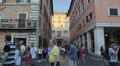 Piazza Navona and Italian Senate, Rome HD Footage