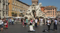 Piazza Navona, Rome Footage