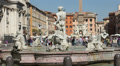 Fountain of the moor, Rome Footage