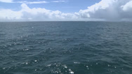 Stock Video Footage of Ocean shot pan left to right
