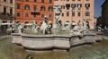 Fontana del Nettuno, Rome Footage