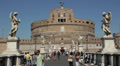 Castel Sant'Angelo, Rome HD Footage