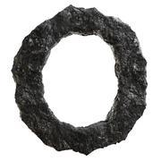 Stock Illustration of Coal font