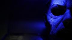 Zombie Lab   Severed Head   Flashlight 02 - stock footage