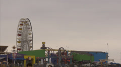 Ferris wheel 1 Stock Footage