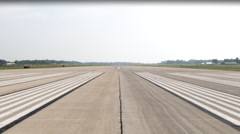 Runway End Stock Footage