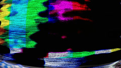 TV Noise 0824 - HD 1080p Stock Footage