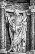 saint bartholomew - stock photo