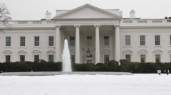 US White House Building - stock footage