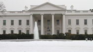 Stock Video Footage of US White House Front Clean