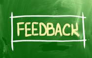 Stock Illustration of feedback