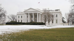 US White House Building Stock Footage