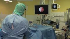 Endoscopy Stock Footage