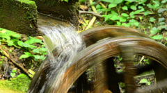 Watermill game Stock Footage