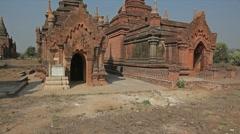 Bagan - pagoda Stock Footage