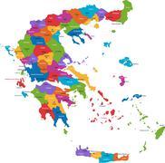Stock Illustration of Greece map