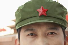 Chinese Communist Solider - stock photo