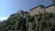 Stock Video Footage of Fort Bard, Aosta Valley, Italy