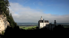 Neuschwanstein Castle, Schwangau, Bavaria, Germany Stock Footage