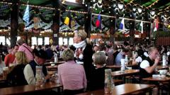 Oktoberfest, Munich, Bavaria, Germany - stock footage