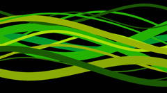 Green sine wave loop. Stock Footage