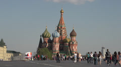 Moscow Kremlin Red Square Moscow river embankment and vicinities 21.MTS - stock footage