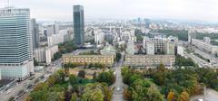 Warsaw architecture Stock Photos