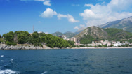 Stock Video Footage of Budva Riviera