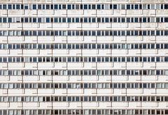 Precast apartment building Stock Photos