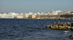 0118 The old town of Trapani Stock Footage