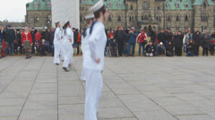 Dancing Sailors Stock Footage