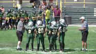 Stock Video Footage of Youth League Football-Coin Toss