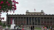 Stock Video Footage of The Altes Museum, Old Museum, Berlin