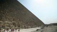 Stock Video Footage of Visiting pyramid in Egypt