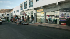 Shops in Sharm El Sheikh Stock Footage