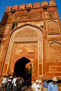 Red fort of agra, india Stock Photos