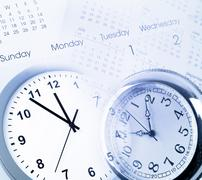 time management - stock photo